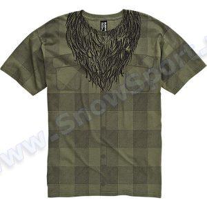 Koszulka Burton Lumberjack Military Green 2012 najtaniej