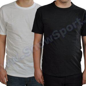 Dwupak T-Shirt Levis 2 Pack Tee SKATEBOARDING COLLECTION White/Jet Black 2017 (19452-0010) najtaniej