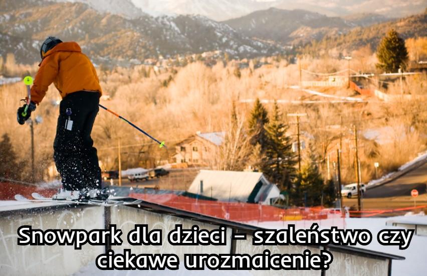 snowpark dla dzieci