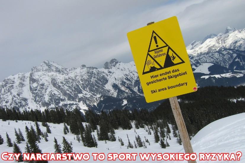 czy narciarstwo to sport wysokiego ryzyka?