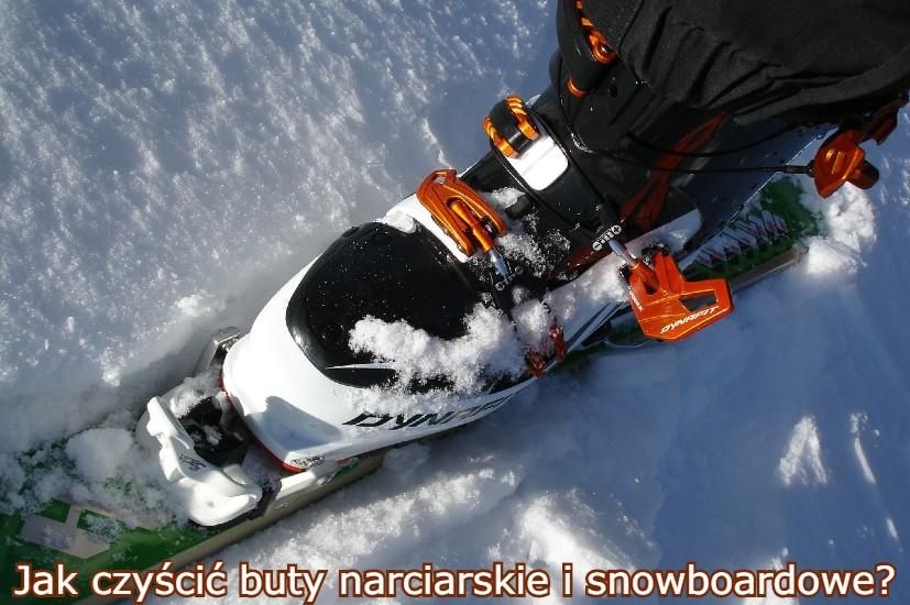 jak czyścić buty narciarskie