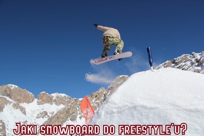 jaki snowboard do freestyle'u