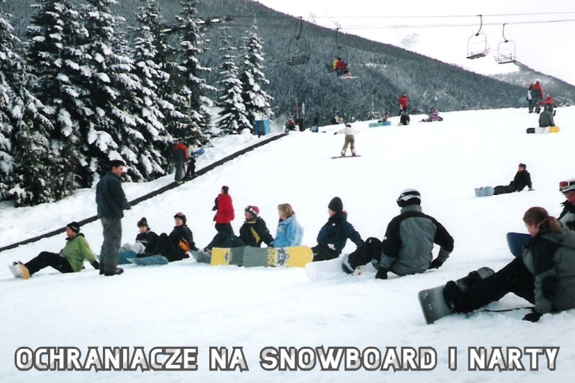 ochraniacze na snowboard i narty