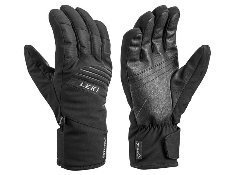 rękawice narciarskie LEKI Space GTX Black 2020