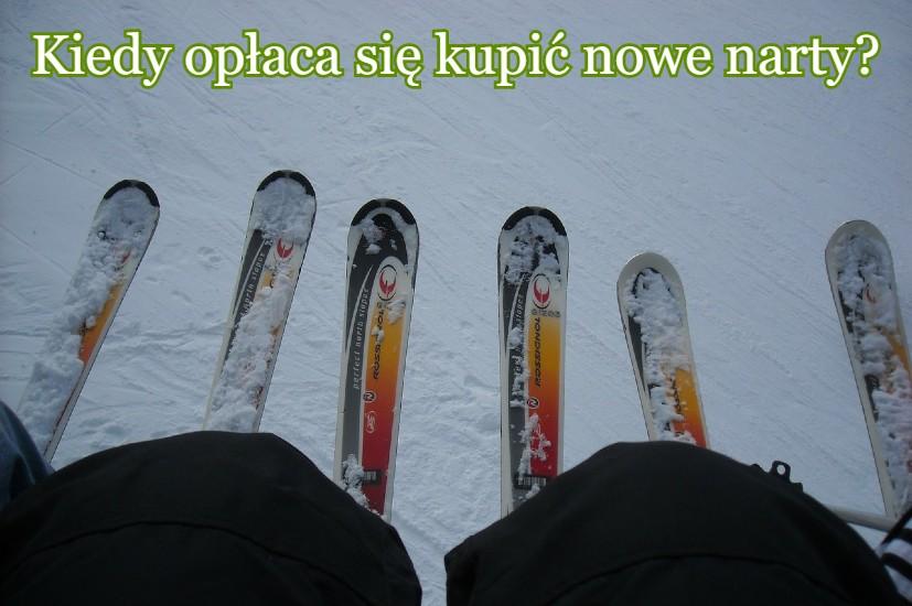 kiedy kupić narty?
