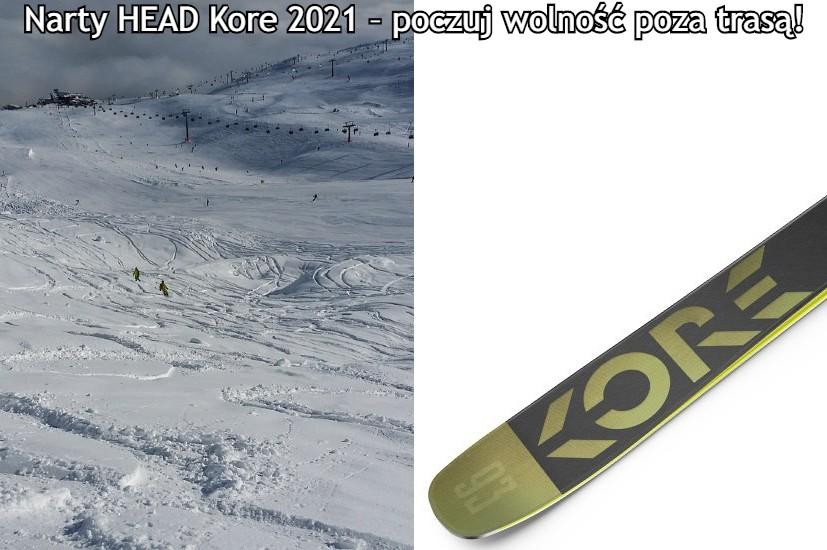 narty HEAD Kore 2021