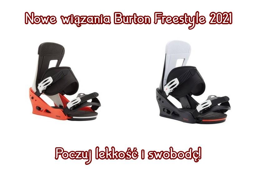 wiązania Burton Freestyle 2021