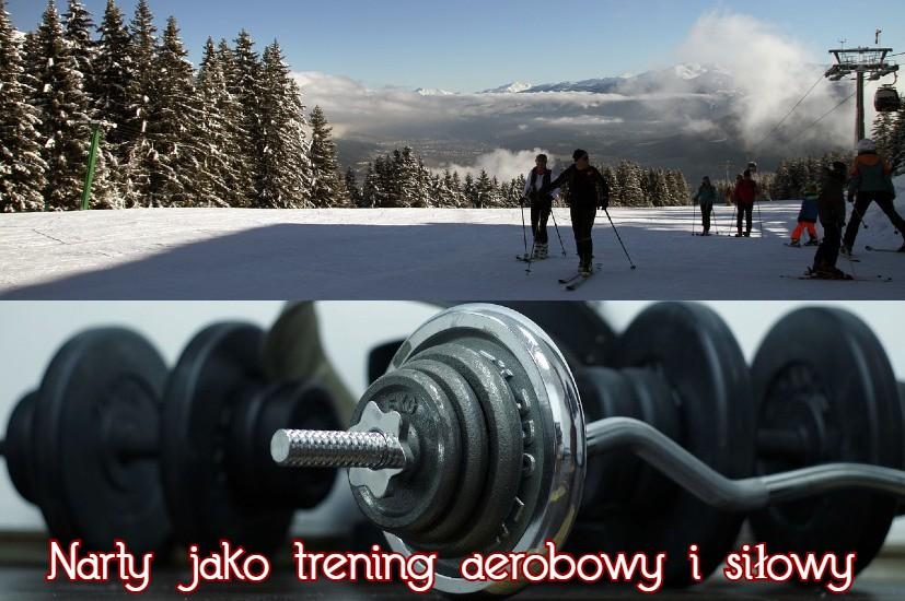 jazda na nartach jako trening