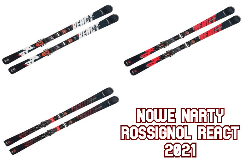 Narty Rossignol React 2021