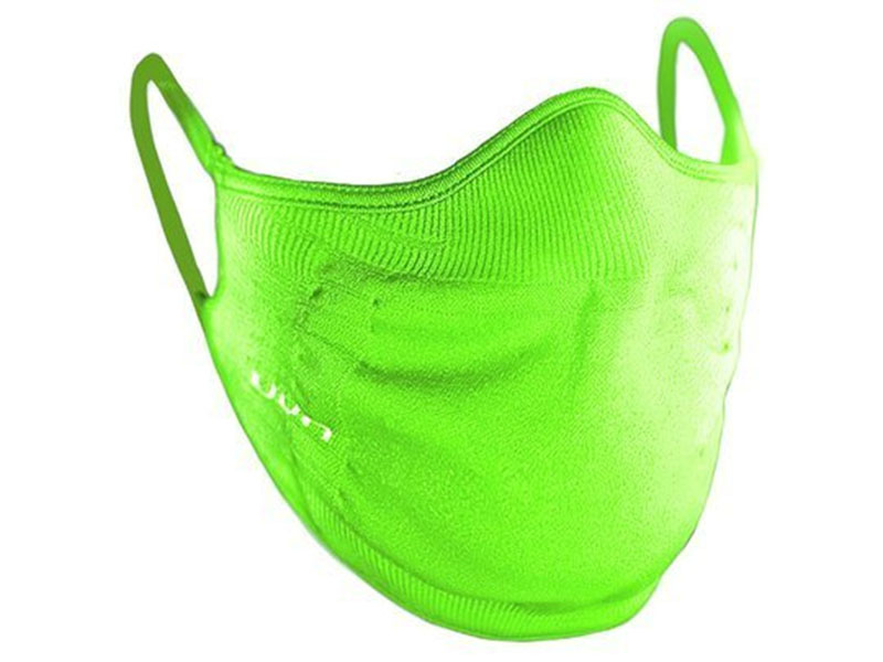 maseczki ochronne dla narciarzy UYN Community Mask Lime 2021
