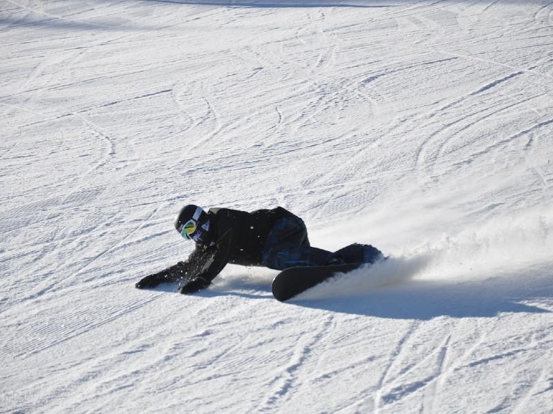 jak upadać na snowboardzie?