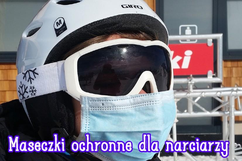 maseczki ochronne dla narciarzy