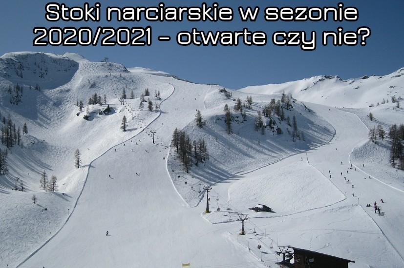 stoki narciarskie a koronawirus